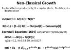 neo classical growth