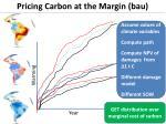 pricing carbon at the margin bau