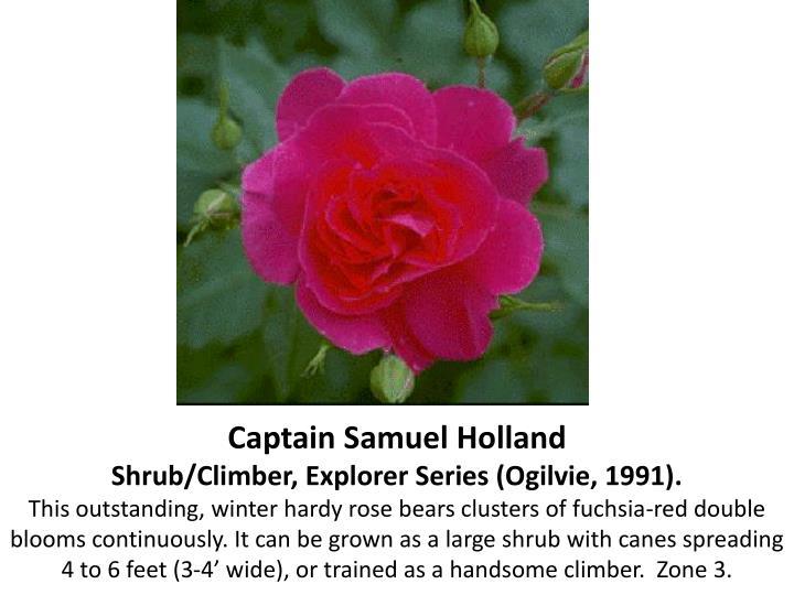 Captain Samuel Holland