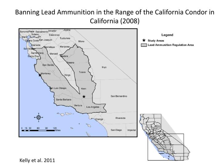 Banning Lead Ammunition in the Range of the California Condor in California (2008)