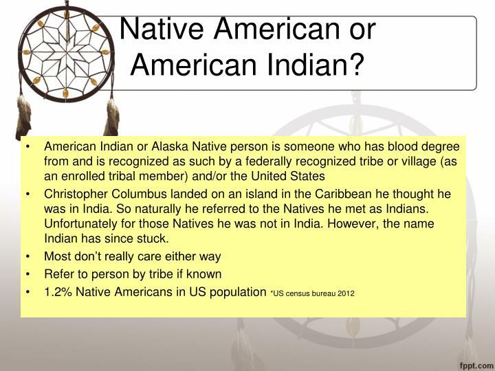 Native american or american indian