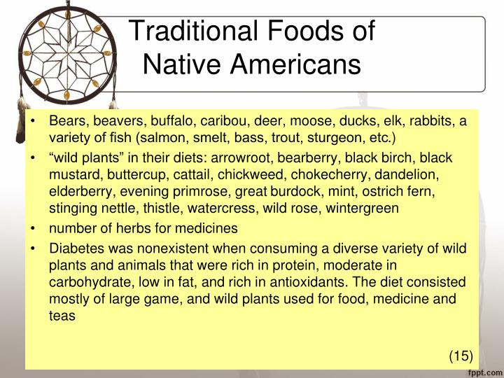 Traditional Foods of