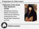 preparation for reformation18