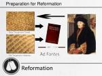 preparation for reformation19