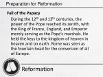 preparation for reformation4