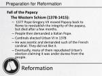 preparation for reformation6