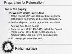 preparation for reformation9