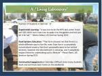 a living laboratory