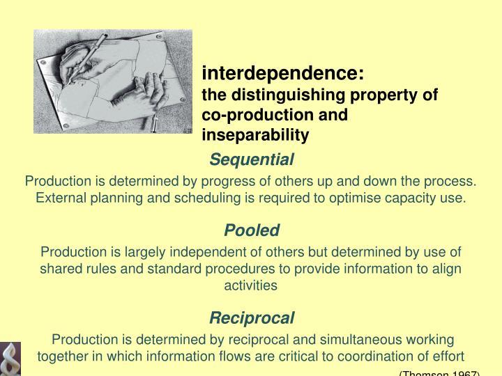 interdependence: