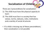 socialization of children2