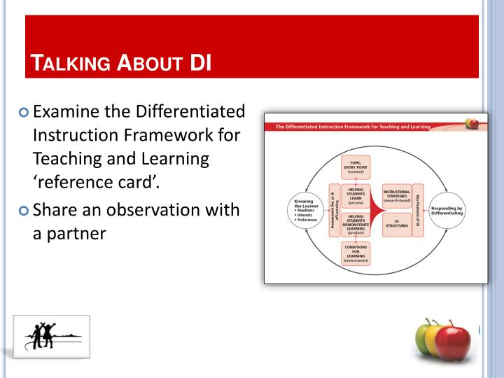 Talking About DI