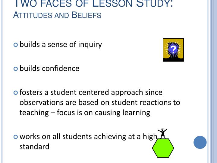 Two faces of Lesson Study: