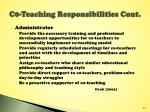 c0 teaching responsibilities cont