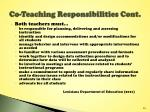 co teaching responsibilities cont2
