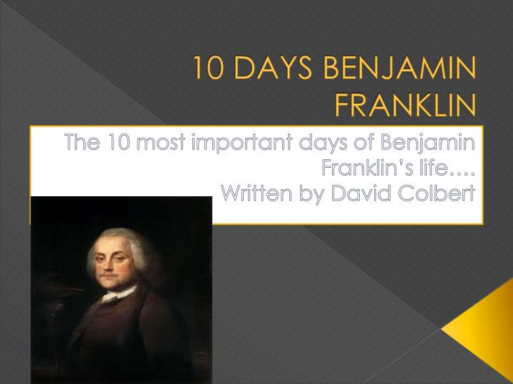 an analysis of benjamin franklins ideas of individualism Benjamin franklin born january 17, 1706, in boston, massachusetts son of josiah franklin (tallow chandler and soap boiler who immigrated from england in 1683 to escape religious persecution.