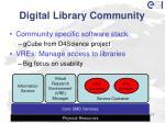 digital library community