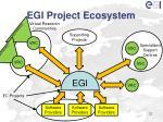 egi project ecosystem