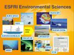 esfri environmental sciences