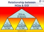 relationship between ngis egi