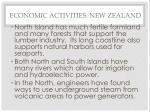 economic activities new zealand