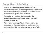 george mead role taking1