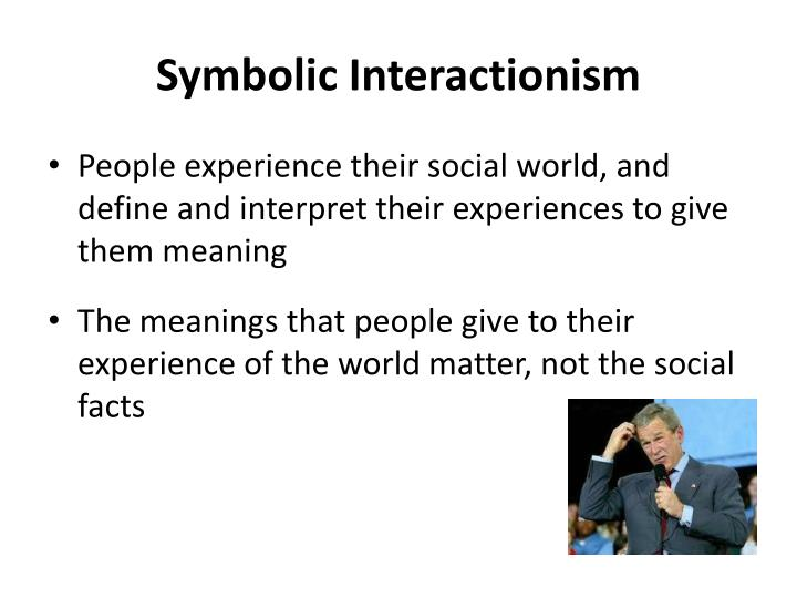 Symbolic interactionism1