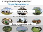 competitive milkproduction