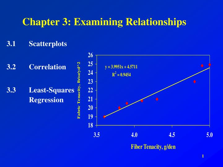 chapter 3 examining relationships n.