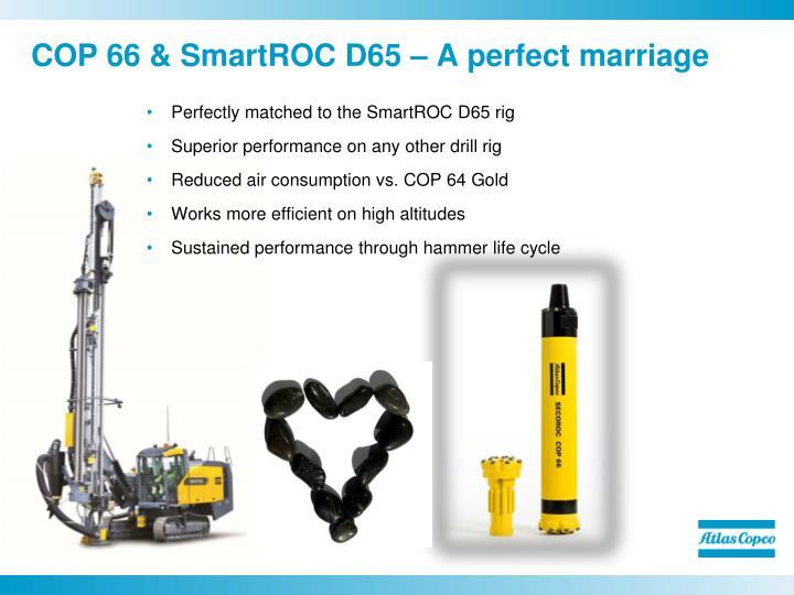COP 66 & SmartROC D65 – A perfect marriage