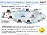 network topology in practice mpls