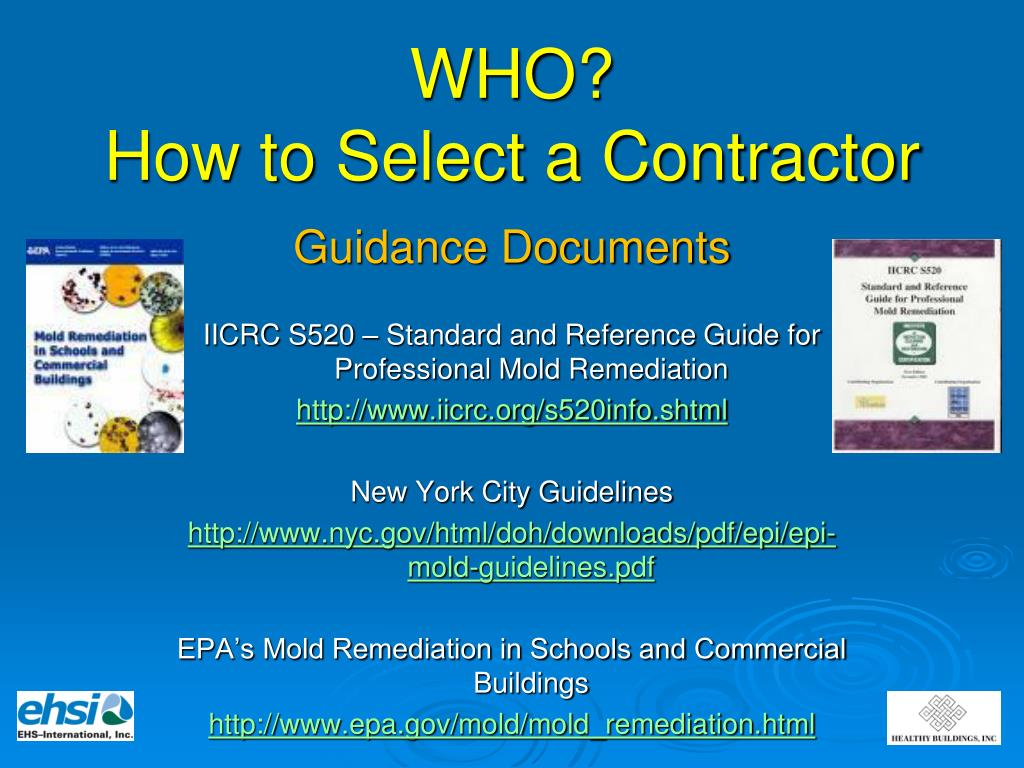 PPT - Mold Remediation & Remediation Contractors PowerPoint