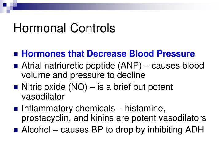 Hormonal Controls