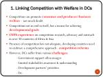 1 linking competition with welfare in dcs