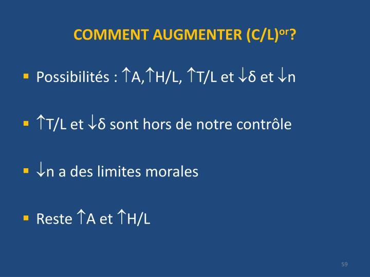 COMMENT AUGMENTER (C/L)