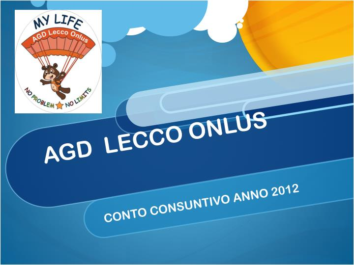 agd lecco onlus n.