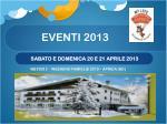 eventi 2013