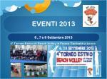 eventi 20133