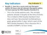key indicators16