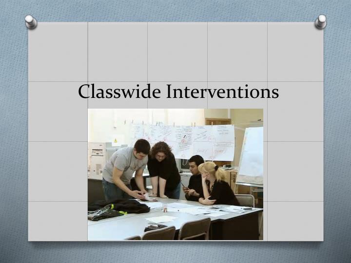 Classwide