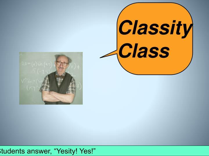 Classity