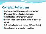 complex reflections
