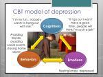 cbt model of depression