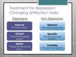treatment for depression changing attribution styles1