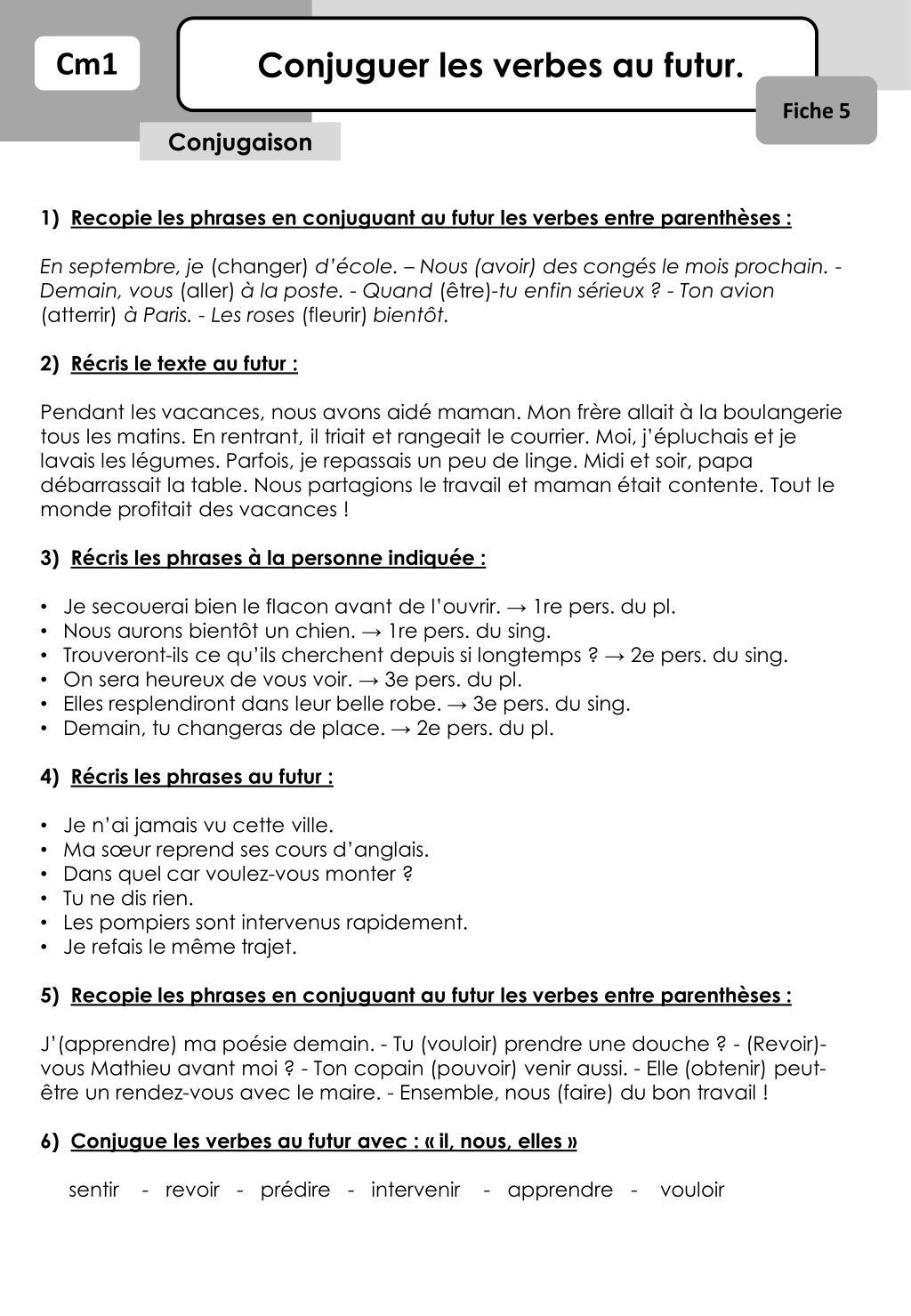 Ppt Conjuguer Les Verbes Au Futur Powerpoint Presentation Free Download Id 2259686