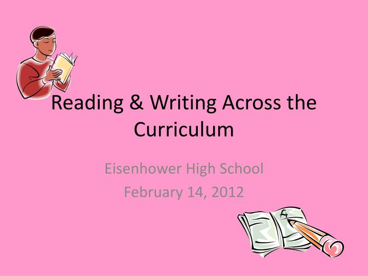reading writing across the curriculum n.