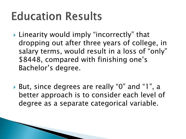 Education Results