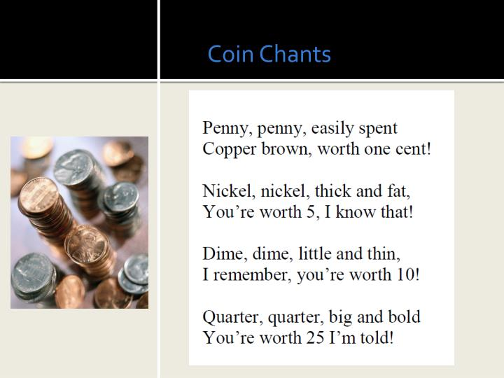 Coin Chants