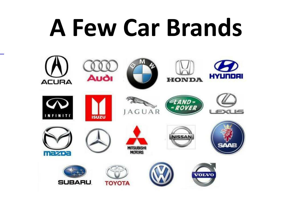 Car Brands Starting With L >> Ppt Cars And Driving Powerpoint Presentation Id 2259833