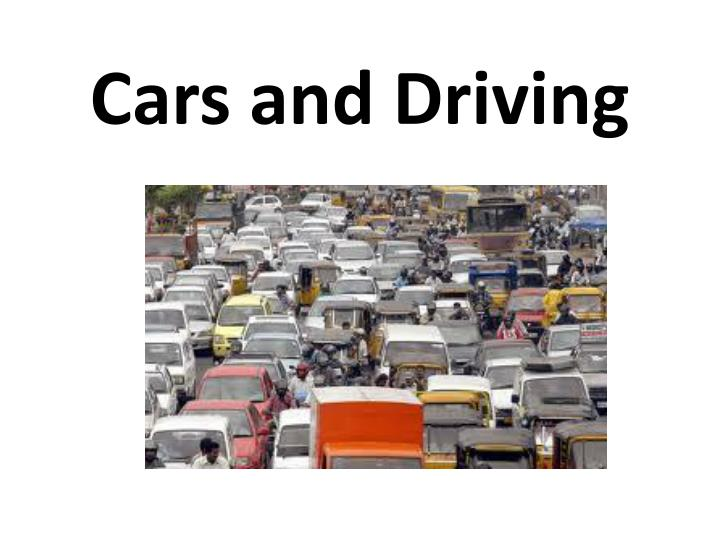 cars and driving n.