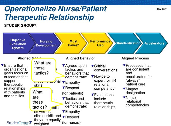 therapeutic nurse patient relationship Practice guideline: therapeutic nurse-client relationship page 1 of 8 suite 302, starlite gallery 7071 bayers road halifax, nova scotia b3l 2c2.